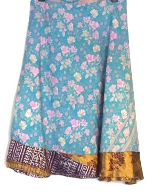 "Magic Silk Wrap Skirt (Med) (Length 36.5"", Width 48"")"