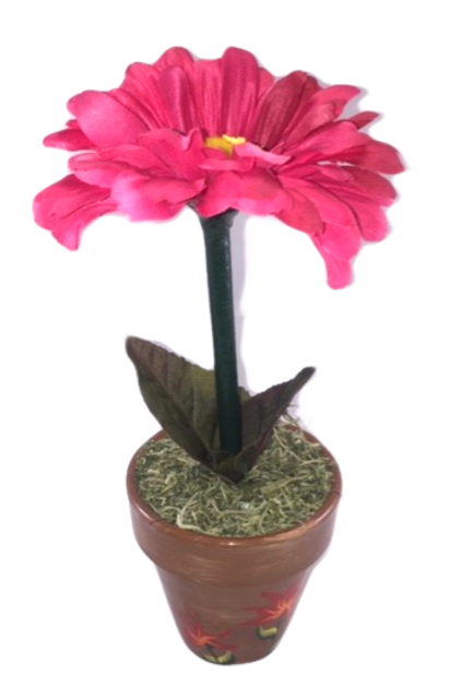 Floral Potted Pen