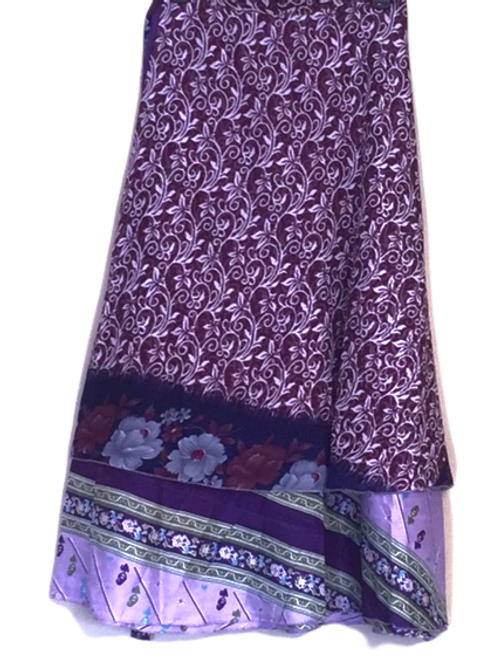 "Magic Silk Wrap Skirt (Med) (Length 36.6"", Width 48"")"