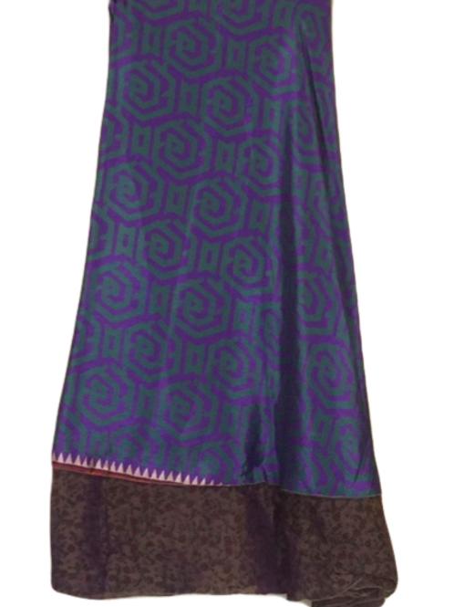 "Magic Silk Wrap Skirt (Large) (Length 72"", Width 39"")"