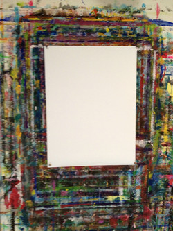 The painting board