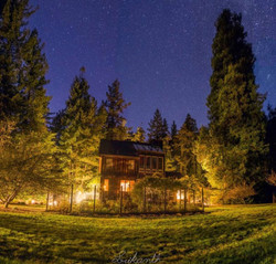 The house under the stars