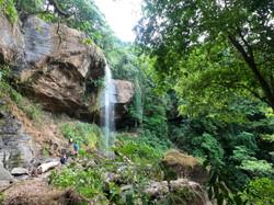 Diamante Waterfall - sleep in the caves behind it!