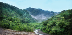 Beautiful valleys are all over Costa Rica