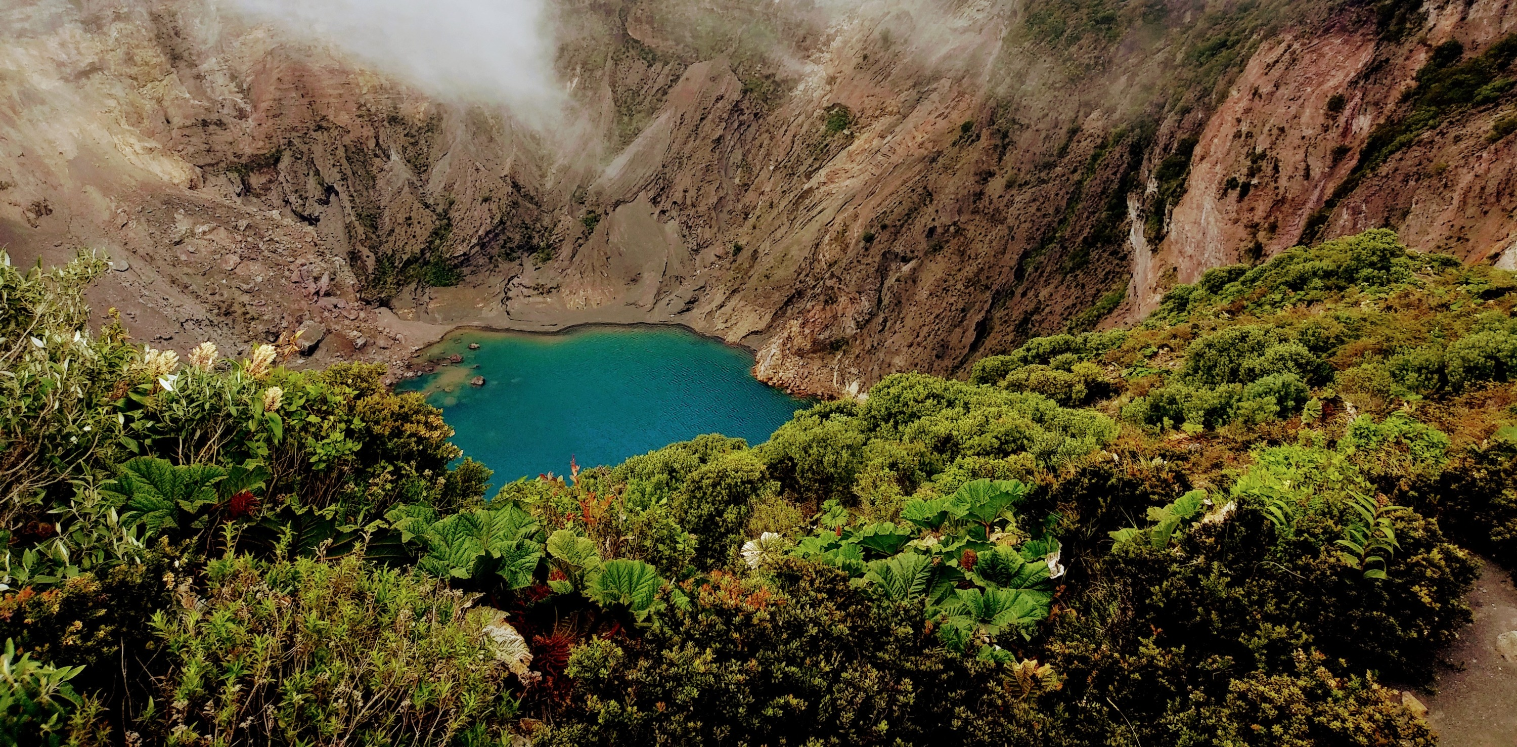 Lagoon at Poás Volcano
