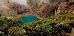 Lagoon at Poás Volcano