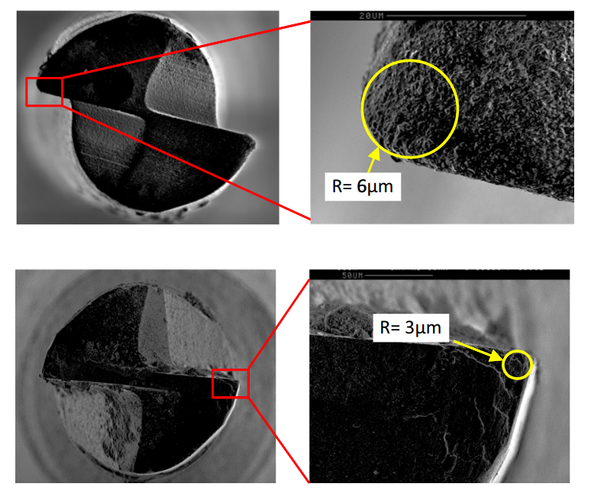 Surface and subsurface characterisation in micro-milling of monocrystalline silicon