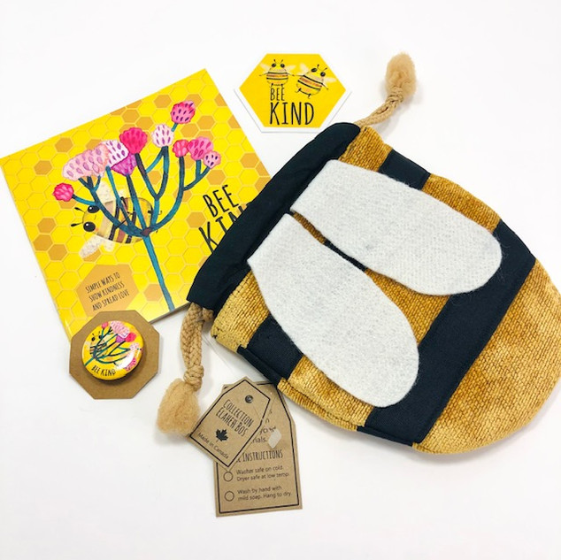 Bee kind book and accessories