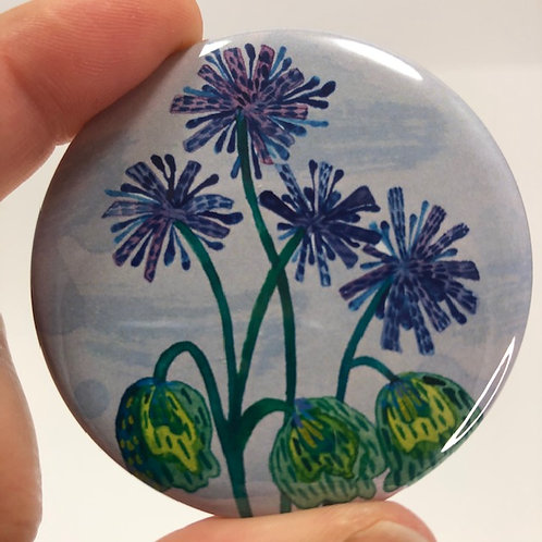 Pocket mirror - Aquarelle style 30