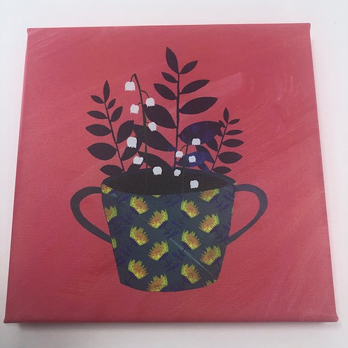 FLOWER CUP canvas