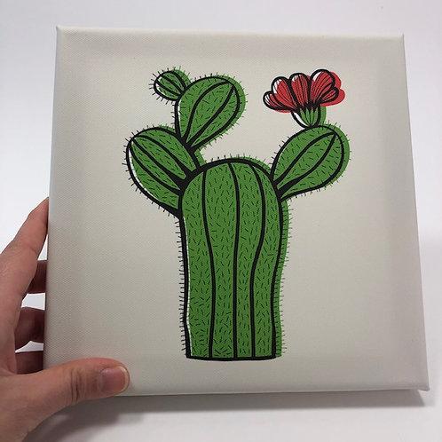Little cacti canvas