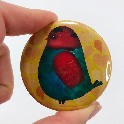 Pocket mirror - Bird 1