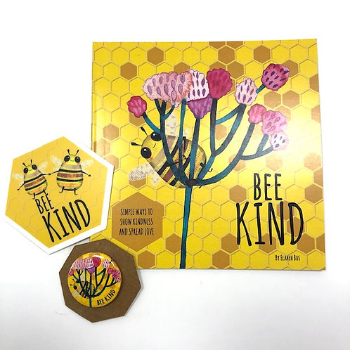 Set 3 BEE KIND