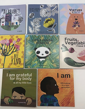 Set of 8 small books