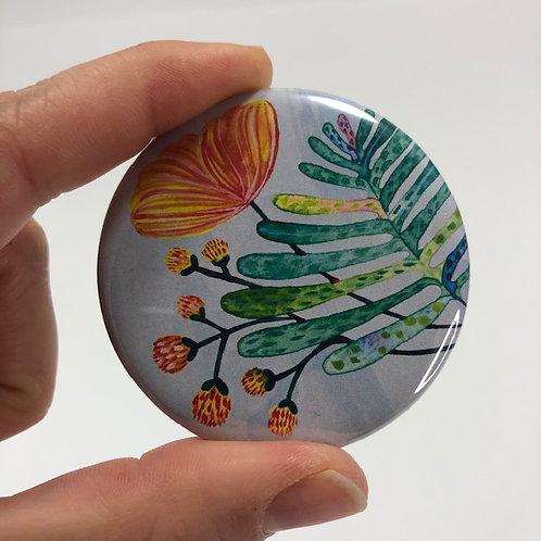 Pocket mirror - Aquarelle style 2