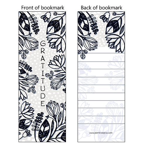 GRATITUDE - bookmarks - pack of 10