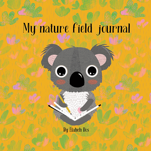 My nature field journal - Earth series