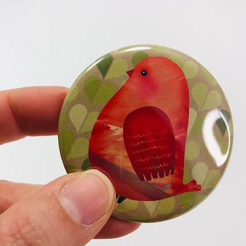 Pocket mirror - Bird 10