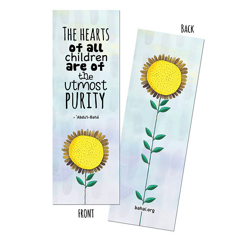The hearts of all children - bookmark pack of 10