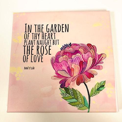 In the Garden - Canvas