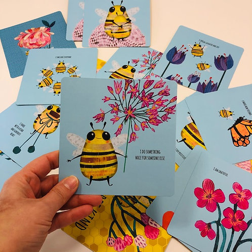 Bee kind memory game