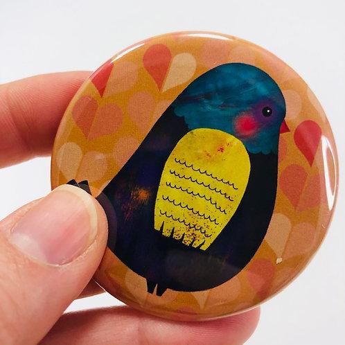 Pocket mirror - Bird 3