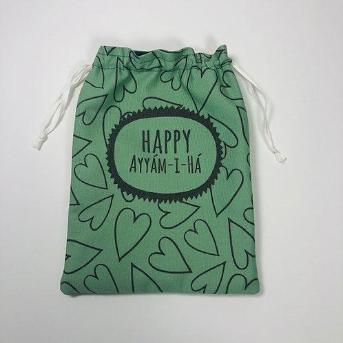 Ayyam-i-Ha drawstring bag - design 3
