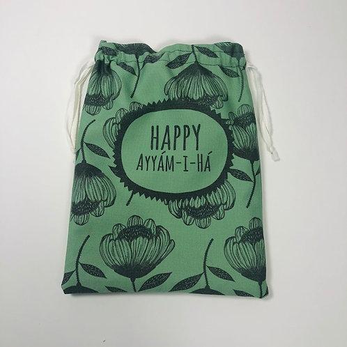 Ayyam-i-Ha drawstring bag - design 5