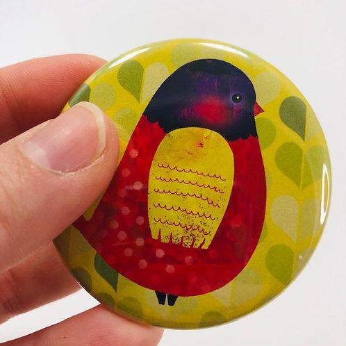 Pocket mirror - Bird 4