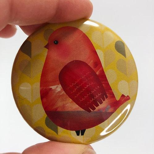 Pocket mirror - Bird 14