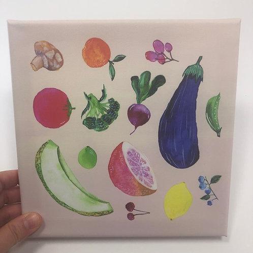 VEGETABLES canvas
