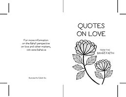 Quotes on love cover - black and white.j
