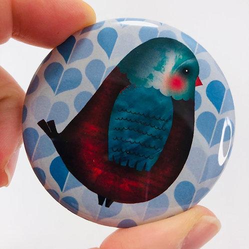 Pocket mirror - Bird 7