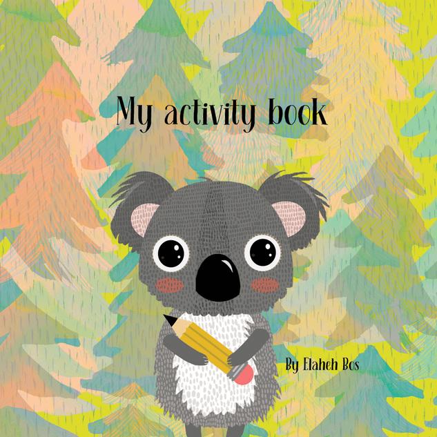 Koala, My Activity book cover
