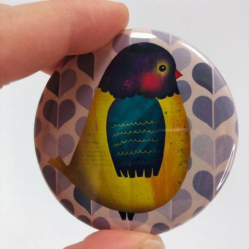 Pocket mirror - Bird 15