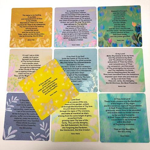 Prayers - Set of 10 cards