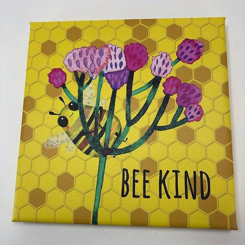 BEE KIND canvas