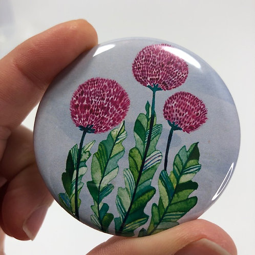 Pocket mirror - Aquarelle style 10