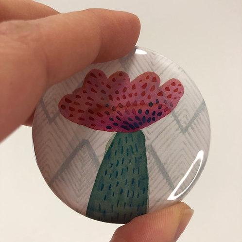 Pocket mirror - Flower 7