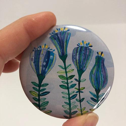 Pocket mirror - Aquarelle style 8