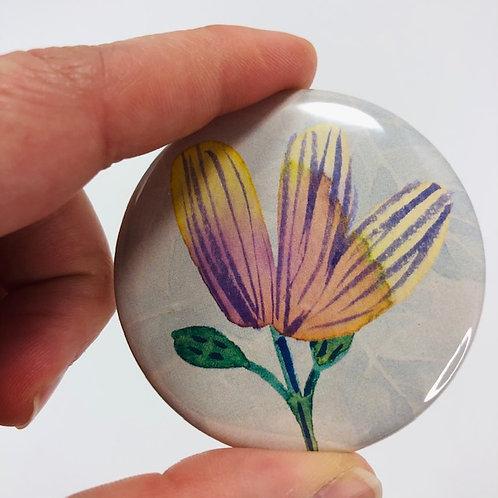 Pocket mirror - Flower 2