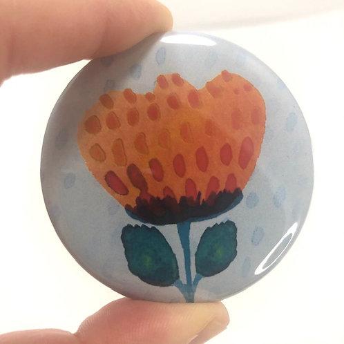 Pocket mirror - Flower 9