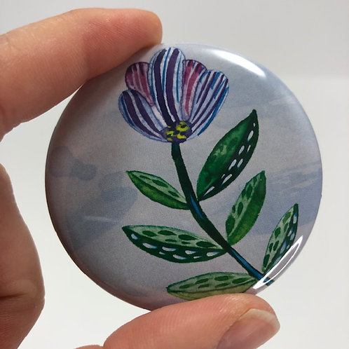 Pocket mirror - Aquarelle style 12