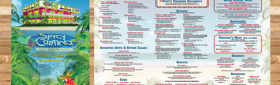 Spicy Cantina - Restaurant Graphics (NJ)