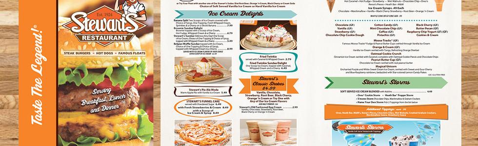 Stewarts Restaurant - Restaurant Graphics (NJ)