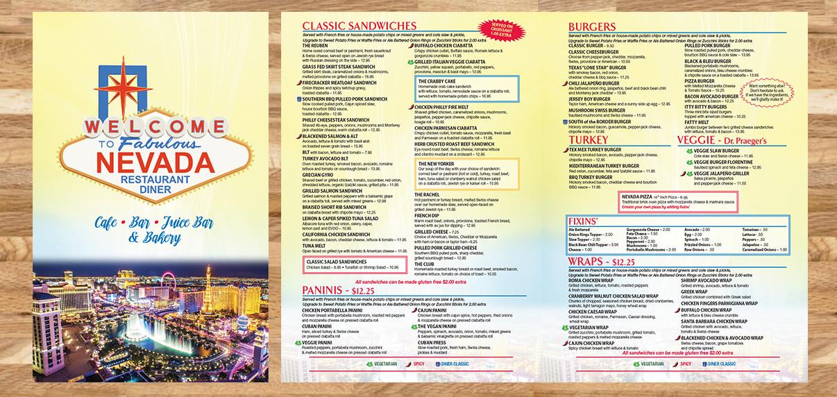 Nevada Diner - Restaurant Graphics (NJ)