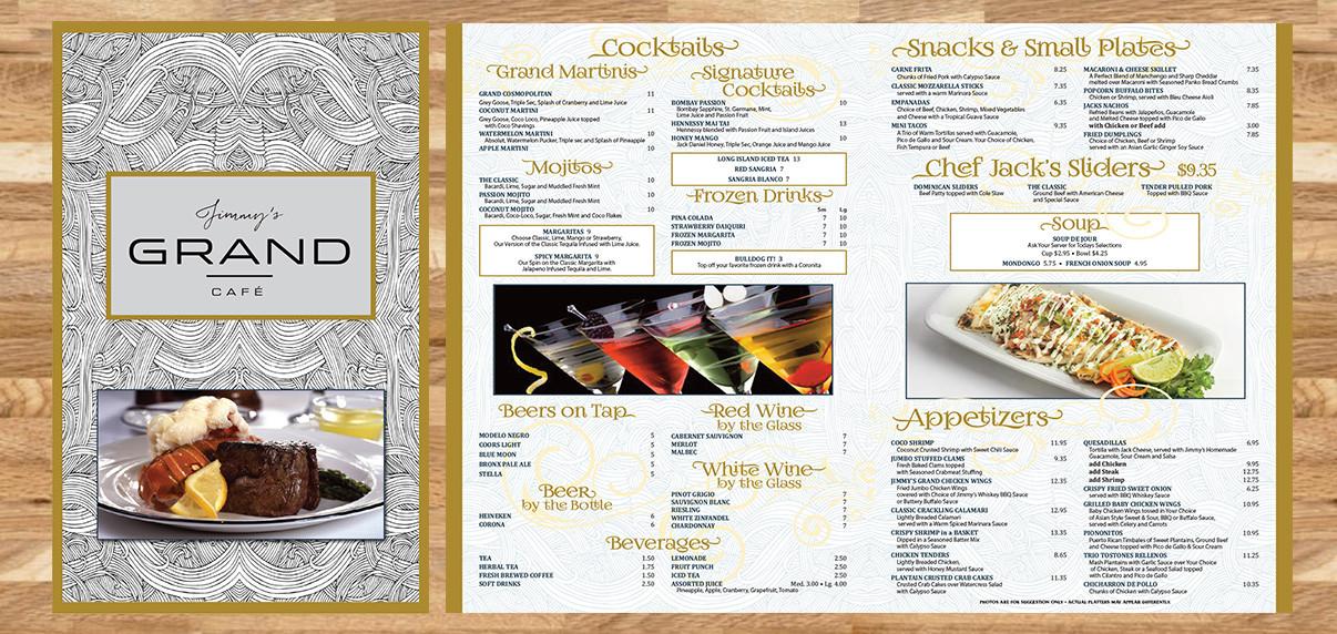 Jimmy Grand Cafe - Restaurant Graphics (NJ)