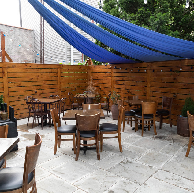 Yia Yia's Taverna Brooklyn backyard dining area.jpg