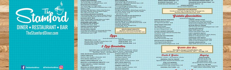 The Stamford Diner - Restaurant Graphics (NJ)