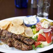 Yia Yia's Taverna Brooklyn Lamb Kebab with veggies .jpg